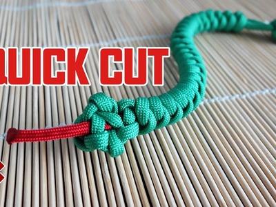 Paracord Tree Snake Bracelet Tutorial Quick Cut