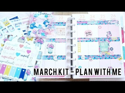 Planner Society February Kit + Plan With Me | Charmaine Dulak