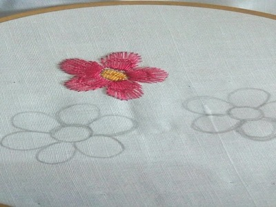 Simple hand embroidery tutorial