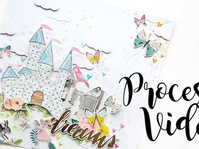 The Princess Castle | Scrapbook Process Video