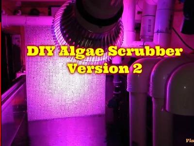 Adding DIY Algae Scrubber To 125 Gallon Reef | Version 2