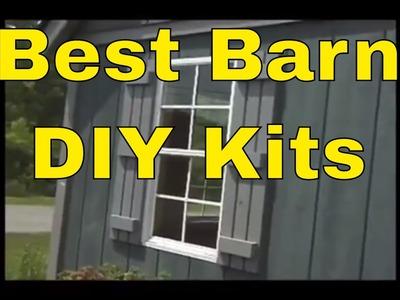 Best Barn Kit Storage Sheds DIY