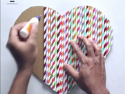 DIY Crafts: Straw Heart Wall Hanging