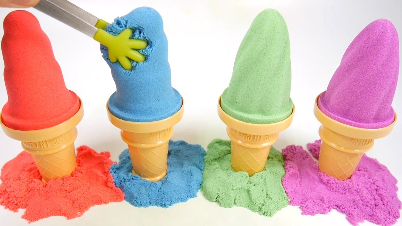 how to make kinetic sand videos