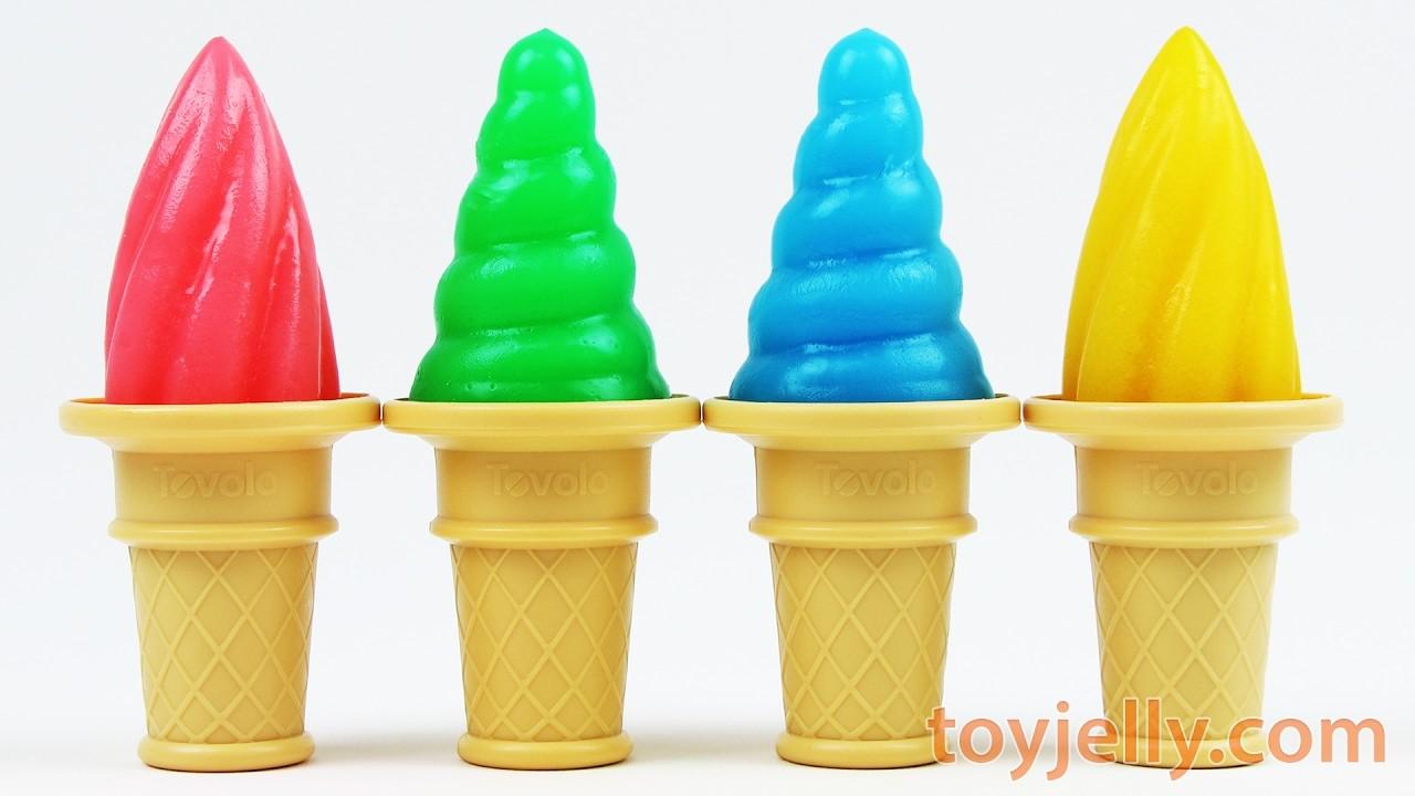 DIY How to Make Yogurt Juice Icecream Jelly Pudding Learn Color PlayDoh Finger Family Nursery Rhymes