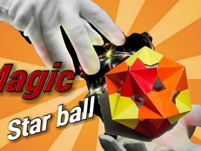 How make a paper magic star ball (origami)
