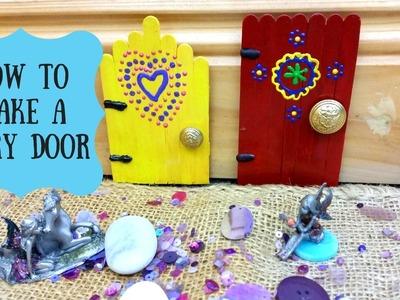 How to make fairy doors: Fairy door DIY