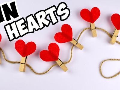 Pins HEARTS Valentine's Day ❤ DIY