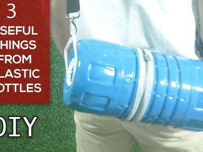 3 Plastic Bottle Crafts you can make at home  | DIY Crafts