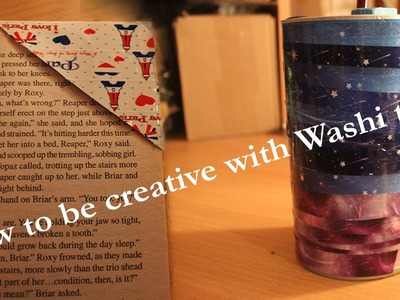 5 DIY's in 1 video: How to be creative with Washi tape! ★