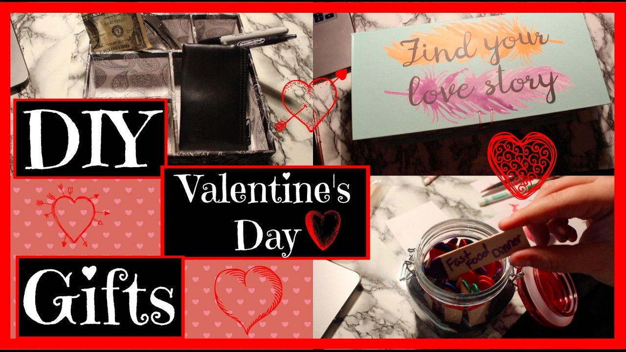cheap last minute diy valentines day gifts