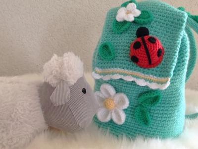 Crochet pattern: Backpack Spring