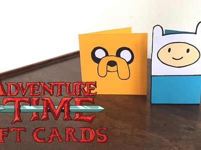 DIY Adventure Time Gift Cards