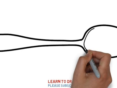 Easy Step For Kids How To Draw a Tablespoon