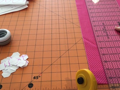 English Paper Piecing Tutorial - Part I