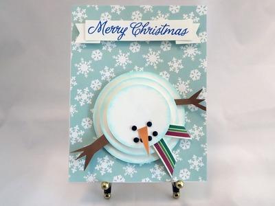 3D Snowman Card Tutorial