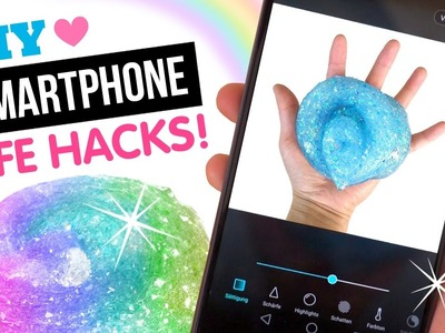 8 SLIME Photography Hacks Using The SPARKLIEST DIY Slime Ever Made!!!