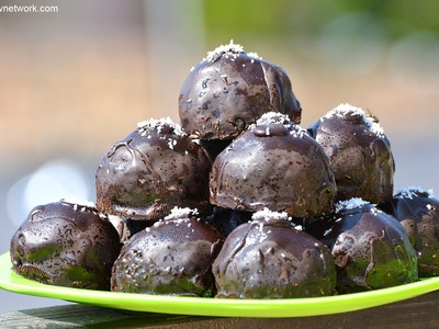 Chocolate Balls | Chocolate Fantasy | New Dessert Invented for 2015 Diwali.Christmas.