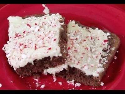 Christmas Chocolate Mint Brownies Recipe