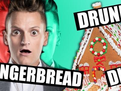 Christmas Drunk DIY | Gingerbread House DIY Drunk | DIY FAIL Christmas | Philip Green Challenge