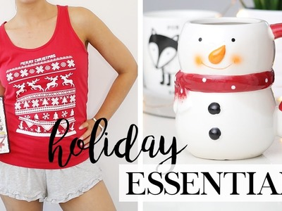 CHRISTMAS ESSENTIALS 2016 - Festive Things You Have To Try