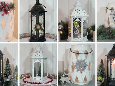 Christmas Lantern Decorating Ideas | Lantern Lookbook