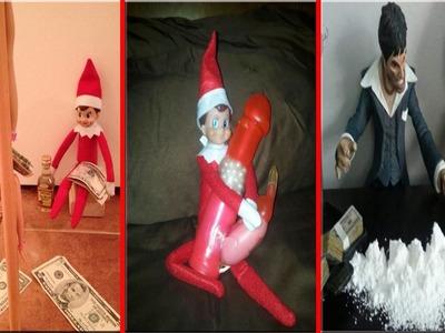Creepy and Worst Elf on The Shelf Ideas