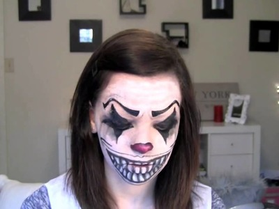 Creepy Halloween Clown Makeup | makeup halloween