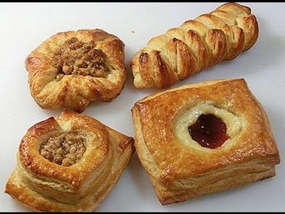Danish Pastry Shapes