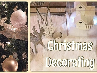 Decorate with me: Christmas Tree Decor & Table Display