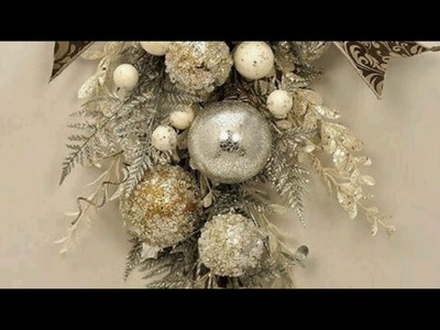Decorate your Christmas in silver color