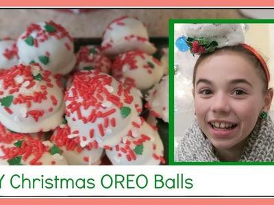 DIY CHRISTMAS OREO BALLS | Flippin' Katie