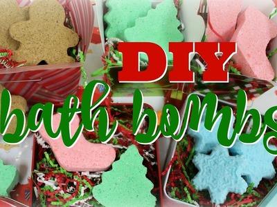 DIY Lush Holiday Bath Bombs!