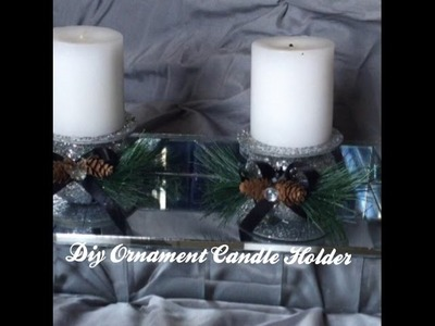 Diy Ornament Candle Holder(5th Series)