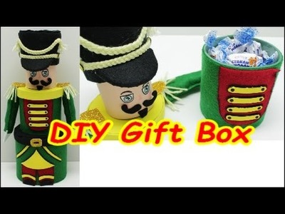DIY Plastic Bottle Crafts Ideas: Reuse Plastic Bottles for a Gift Box A Drummer Boy Creation