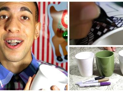 DIY Present - Sharpie Mugs