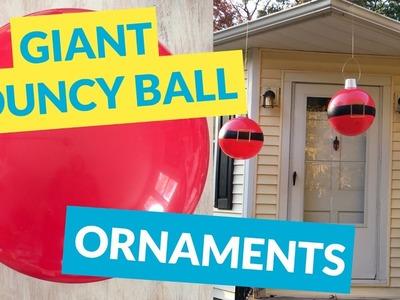 Giant Bouncy Ball Ornaments