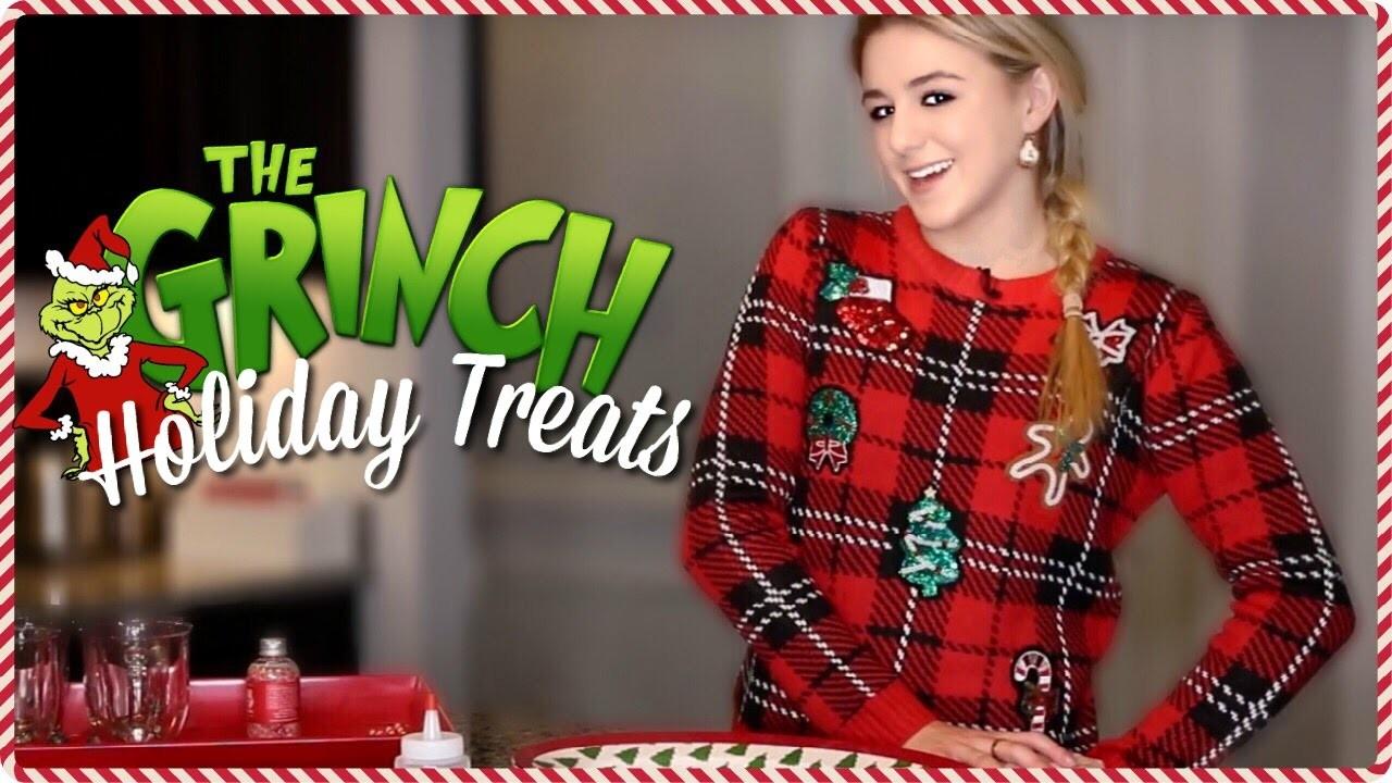 Grinch Holiday Treats. 24 days of Chloe. Chloe Lukasiak