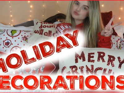 HOLIDAY DECORATIONS || PEPPERMINT COCOA & CANDY CANES