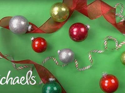 Holiday Glitter Ornament | Michaels