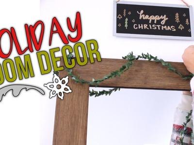 Holiday Room Decor Ideas! | Reese Regan