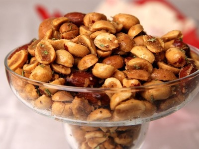 Holiday Spiced Nuts - Laura Vitale - Laura in the Kitchen Ep 257