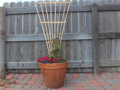 How to Build a Trellis From 2 Fence Boards