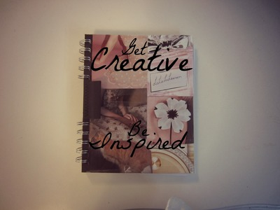 How To: Creative Journal