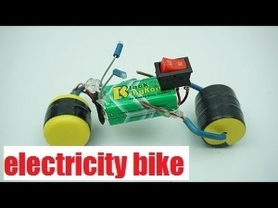 How To Make - a electricity bike toy - Life Hacks - Homemade DIY youtube MrGear Crafts