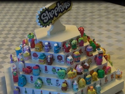 How to Make a Shopkins Display Carousel, Series 1  & Series 2