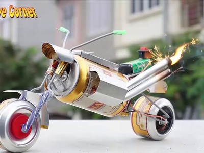 How To Make Toy Motorcycle Beneli-Life Hacks-Homemade youtube (MrGear) Crafts