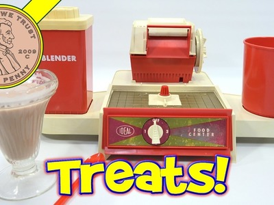 Ideal Electric Food Center Kids Toy Maker! Ice Cream & Chocolate Egg Cream Soda