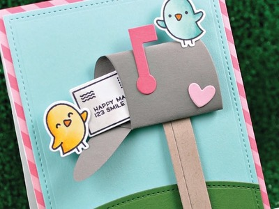 Intro to Happy Mail + a card from start to finish