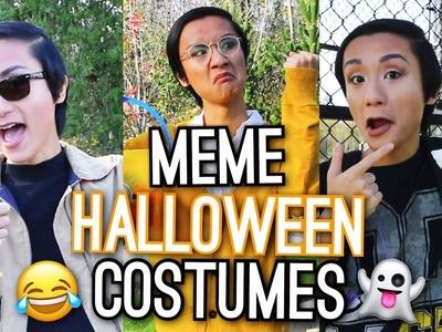 Last Minute Halloween Costume Ideas! Meme Inspired!